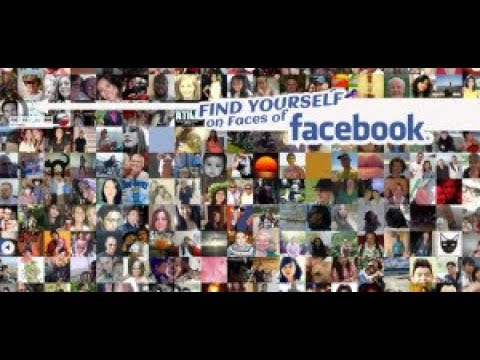 How to see all facebook profile faces at once