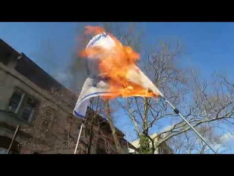 Burning the Israeli Flag in New York City