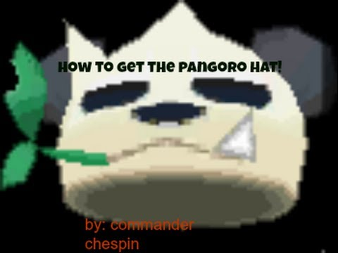 How to get the Pangoro Hat ( bamboo sprig hat) , Pokemon x and y