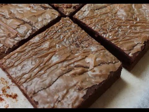 Easy Nutella Brownies | Easy 4 Ingredients Recipe