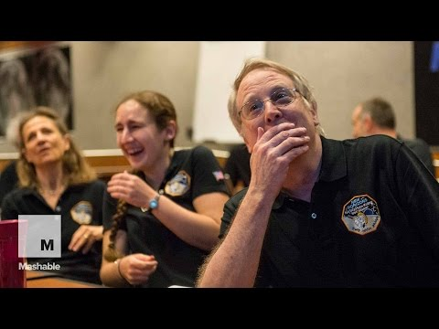The New Horizons crew sees a high-resolution photo of Pluto for the very first time | Mashable