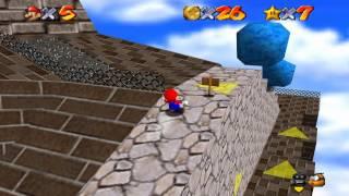 Super Mario 64 Walkthrough - Course 2 - Whomp
