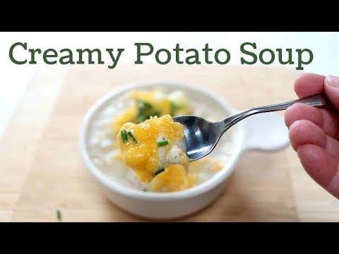 Easy, Creamy Potato Soup Recipe