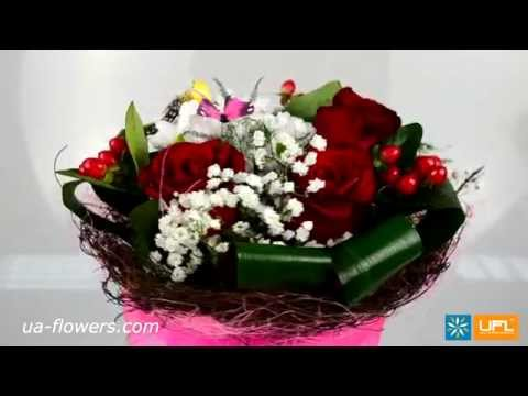 Bouquet for beloved girlfriend - flower delivery Ukraine, Russia and worldwide - ua-flowers.com