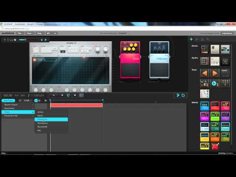 Audiotool Synths - Dubstep Loopbass