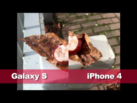iPhone 4 vs Samsung Galaxy S - camera and video quality