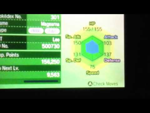 Pokemon Sun and Moon Magearna Event - USE SYNCHRONIZE! IVs Discussion!