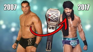 15 Champion Wrestlers Who Are On Top of WWE: Where Were They 10 years ago Before They Made It Big!