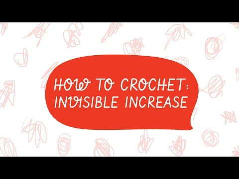 How to Crochet: The Invisible Increase