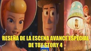 Reseña de la Escena Avance Especial de Toy Story 4 Explicacion de la Nueva Historia