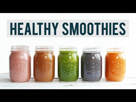 5 Breakfast Smoothie Recipes | EASY + HEALTHY