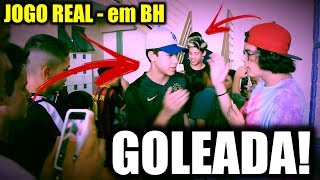 FOMOS PARA BH JOGAR BOLA E DEMOS SHOW!!! - JOGO REAL