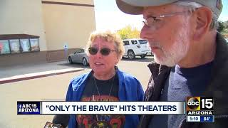 Emotional day in Prescott for premiere of 'Only the Brave'