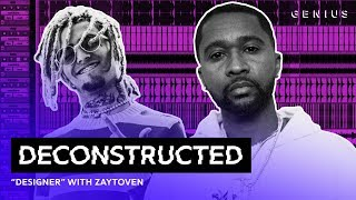 """The Making Of Lil Pump's """"Designer"""" With Zaytoven 