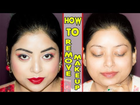 How To Remove Makeup Properly | The Easy And Simple Way | Indian Makeup