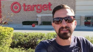 Looking For Disney Stuff At The Target Behind Disney World!