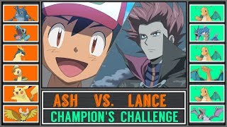 Ash vs. Lance (Pokémon Sun/Moon) - Johto Champion
