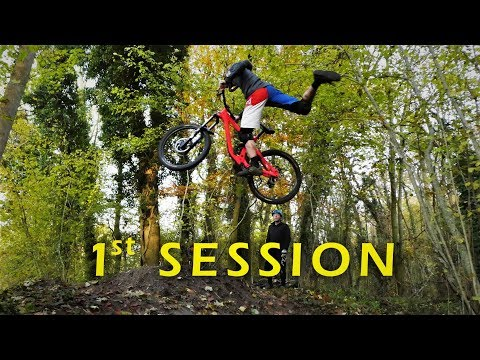 Test Ride Et Première Grosse Session au Step Up | Dh Freeride