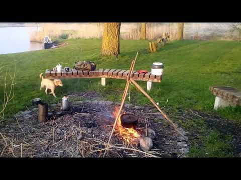 Feuerzeit und etwas Lager leben !