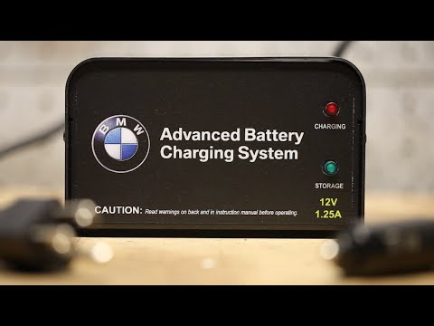 HOW TO: BMW E46 M3 Connect Battery Trickle Charger - Works on Most BMWs