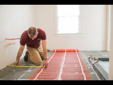 Remodeling With Electric Radiant Heat