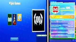 Season 8 Level 100 Rewards Videos 9tube Tv