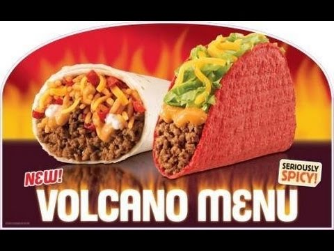 Taco Bell Volcano Bacon Crunchwrap Review