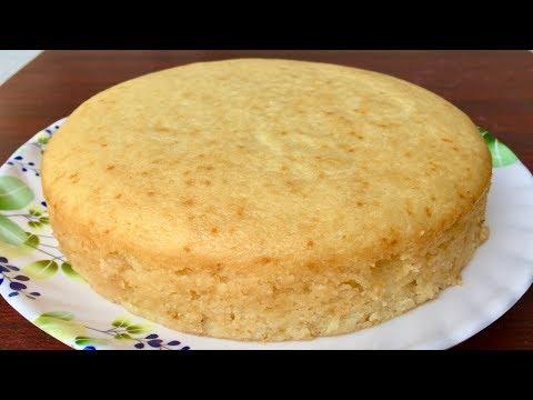 Eggless Vanilla Sponge Cake | Kitchen Time with Neha