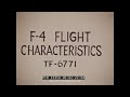 F 4 Phantom Flight Characteristics Flat Spin 23354