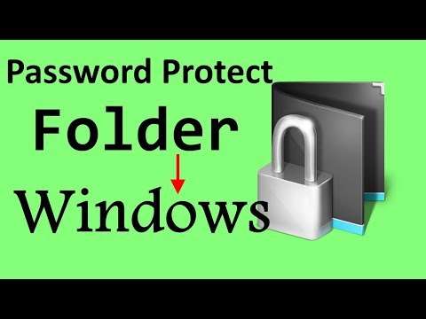 How To Password Protect a Folder in Windows? | PCGUIDE4U
