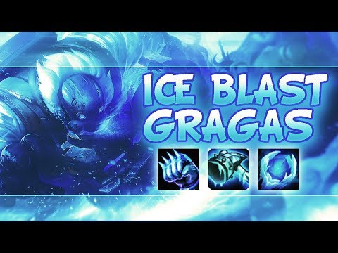 ICE BLAST GRAGAS - Funny Moments #41 - League Of Legends