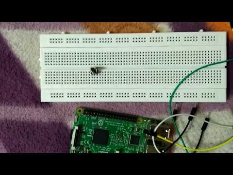 Control led using push button with raspberry pi