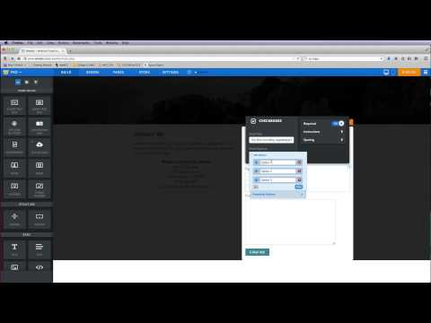 Weebly - Contact Form