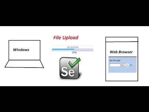 Selenium WebDriver File Upload AutoIt