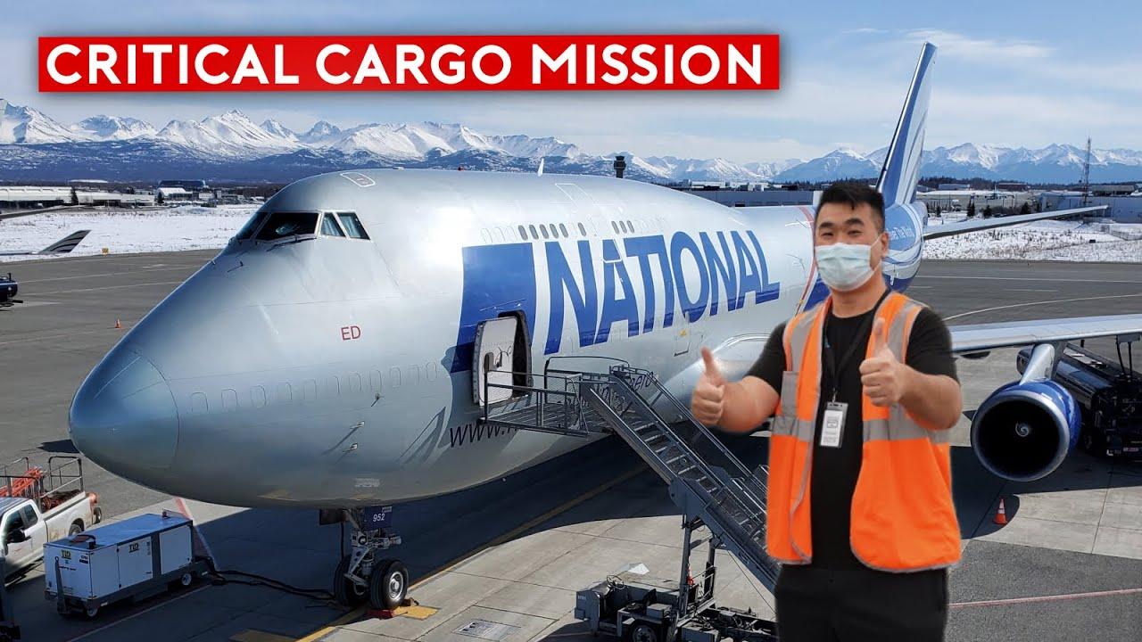 Flying Inside Covid-19 Cargo Response Flights (B747 and B757)