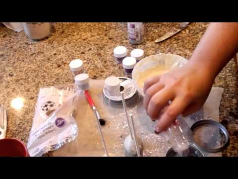 Jus4SweetZ How to make and Decorate Cake pops