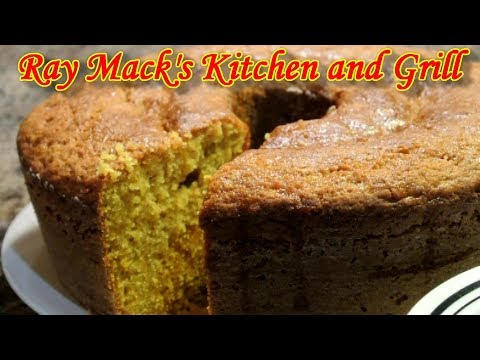 Sweet Potato Pound Cake Recipe | How To Cook