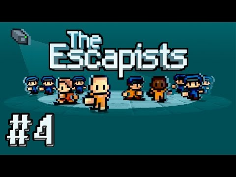 Let's Play The Escapists (part 4 - Changing Jobs [blind])