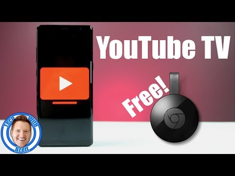 Try YouTube TV & Receive a Free Chromecast!