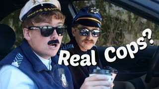 FUNNY SKETCH COMEDY Police Fails: Real Cops?
