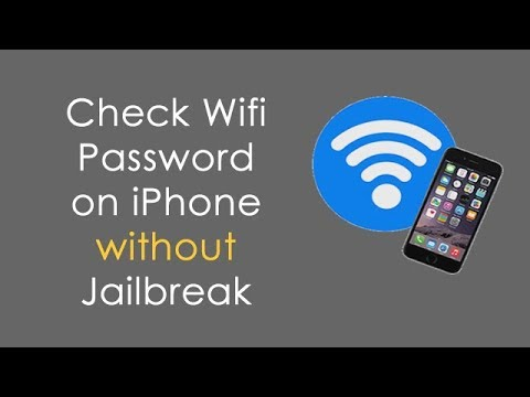 How to See WiFI Password on iPhone without Jailbreak?