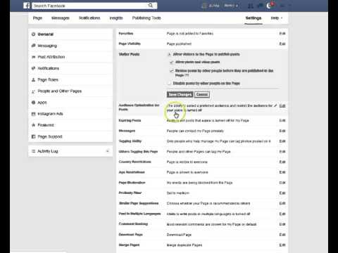 How to allow the public post on your Facebook page