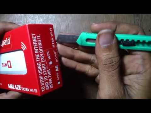 MTS MBLAZE ULTRA AC3633R UNBOXING & REVIEW