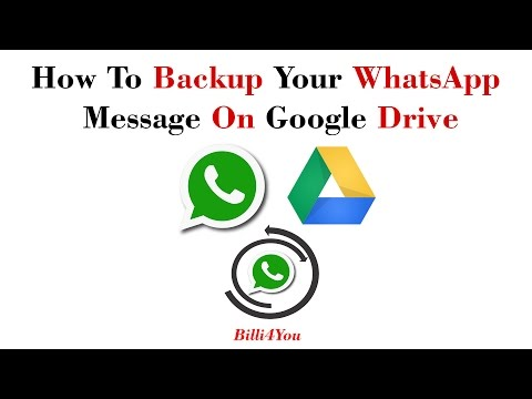 How To Backup Your WhatsApp Message On Google Drive