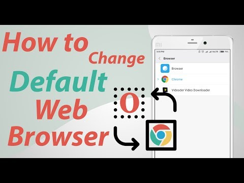 How To Change Default Browser on Android