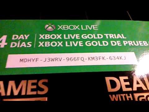 Free 14 day trial for Xbox live!