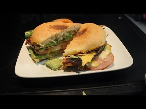 Delicious Mexican Torta ~~ Sandwich Texas style