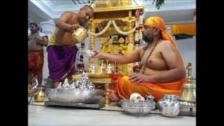 Sri Moolarama Devara  Maha Abhishekaa pooja...by:Sri Sri Subudhendra teertha Sripadangalavaru...
