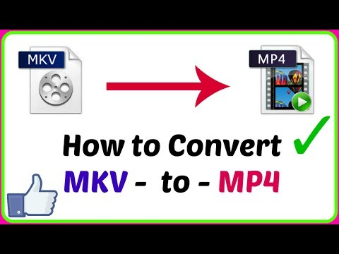 How To Convert MKV to MP4 using VLC Media Player (HINDI ME)