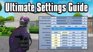 Download Ultimate PC + Console Settings & Sensitivity Guide - Fortnite Battle Royale Video